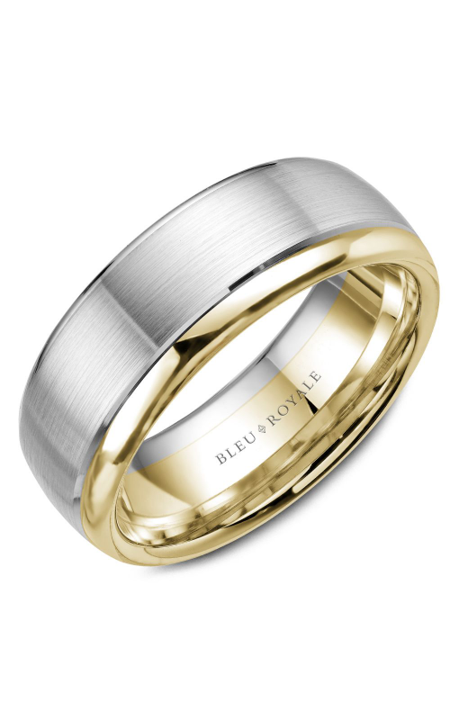Bleu Royale Wedding band Men's Wedding Bands RYL-006WY75 product image