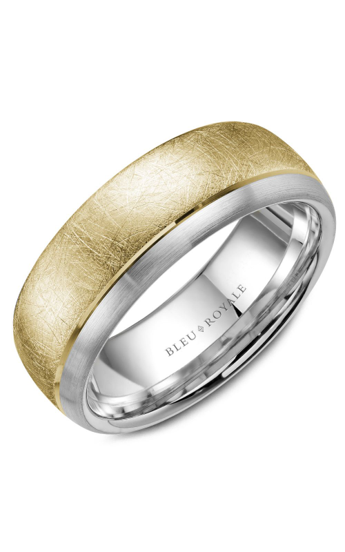 Bleu Royale Men's Wedding Bands RYL-007YW75 product image