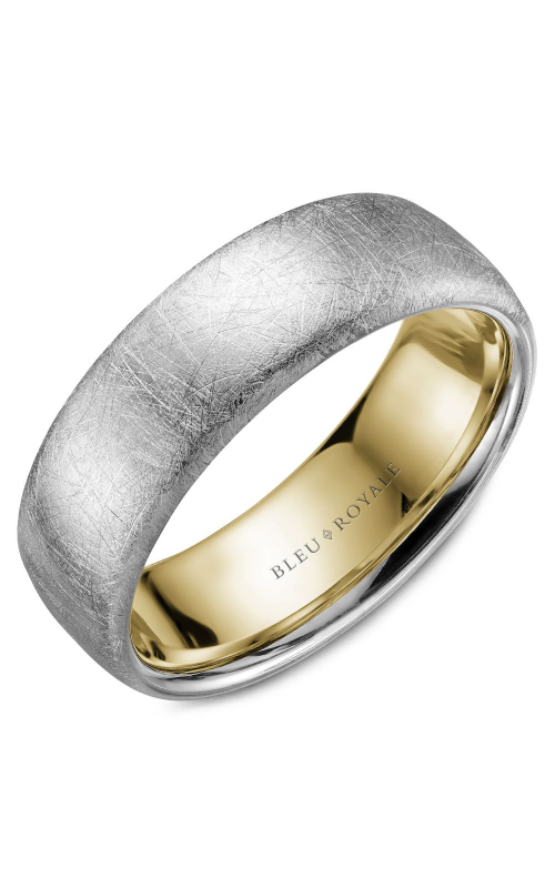Bleu Royale Men's Wedding Bands Wedding band RYL-009WY75 product image