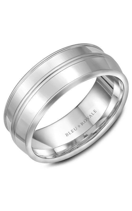 Bleu Royale Wedding band Men's Wedding Bands RYL-013W85 product image