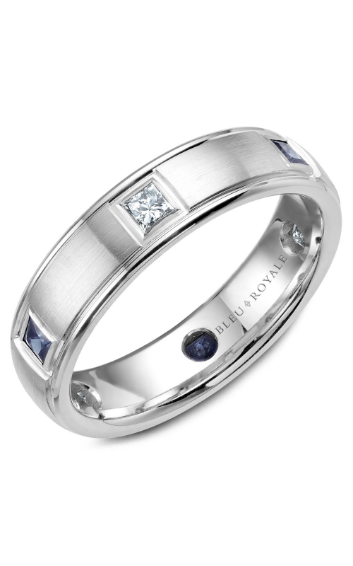 Bleu Royale Men's Wedding Band RYL-016WDS55 product image