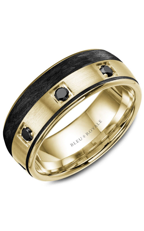 Bleu Royale Men's Wedding Bands Wedding band RYL-019YBD85 product image