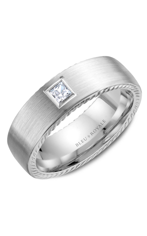 Bleu Royale Men's Wedding Bands RYL-021WD65 product image