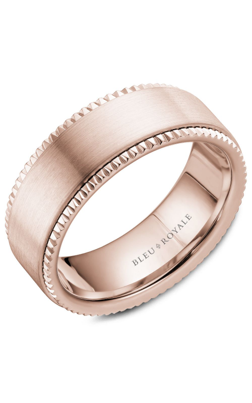 Bleu Royale Men's Wedding Band RYL-028R8 product image