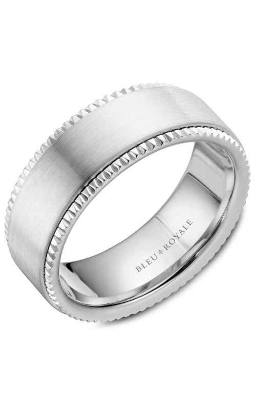 Bleu Royale Men's Wedding Bands Wedding band RYL-028W8 product image
