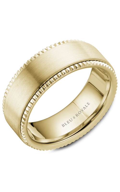 Bleu Royale Men's Wedding Bands Wedding band RYL-028Y8 product image