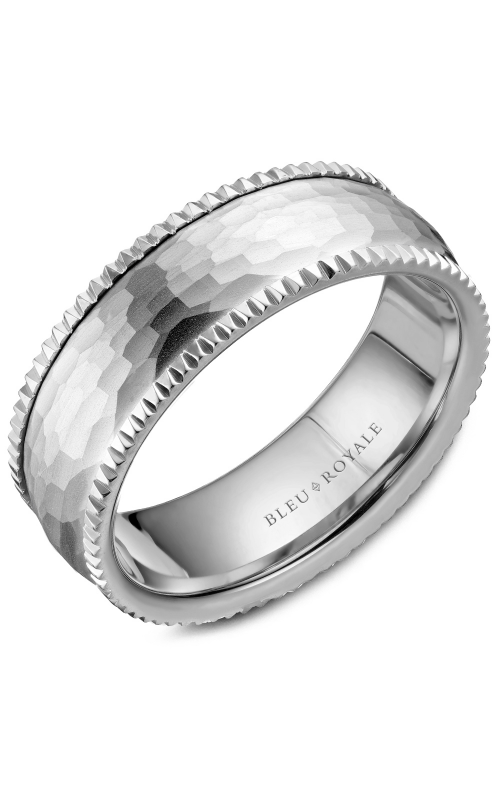 Bleu Royale Wedding band Men's Wedding Bands RYL-029W75 product image