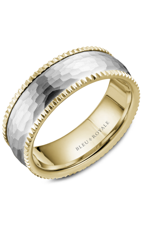 Bleu Royale Men's Wedding Bands Wedding band RYL-029WY75 product image