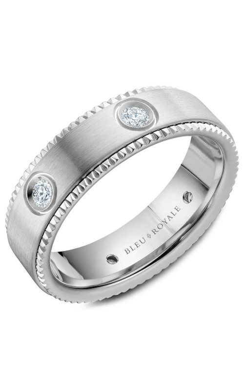 Bleu Royale Wedding band Men's Wedding Bands RYL-030WD65 product image