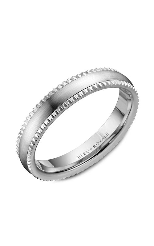 Bleu Royale Men's Wedding Bands Wedding band RYL-031W45 product image