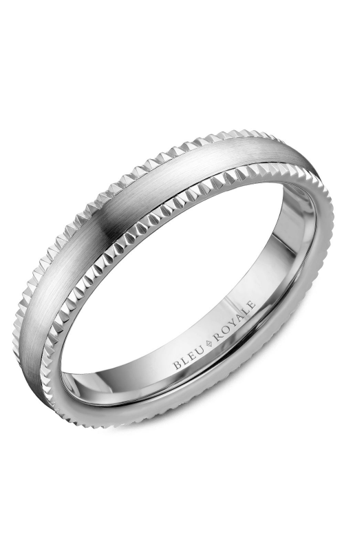 Bleu Royale Wedding band Men's Wedding Bands RYL-031W45 product image