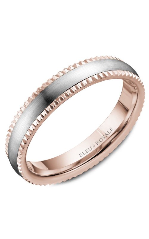 Bleu Royale Wedding band Men's Wedding Bands RYL-031WR45 product image