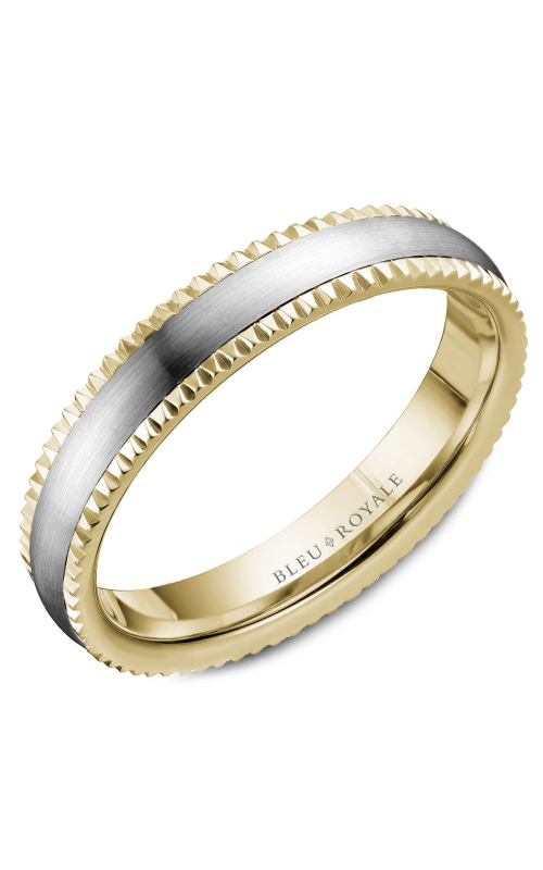 Bleu Royale Men's Wedding Bands Wedding band RYL-031WY45 product image
