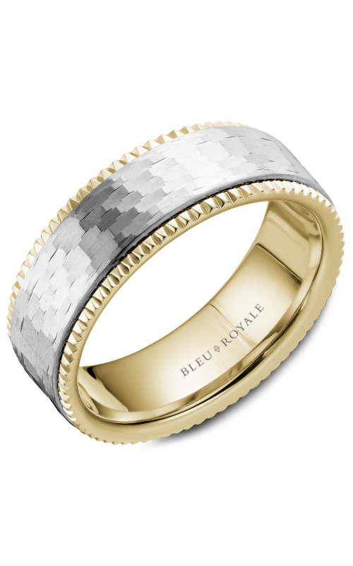 Bleu Royale Wedding band Men's Wedding Bands RYL-032WY75 product image