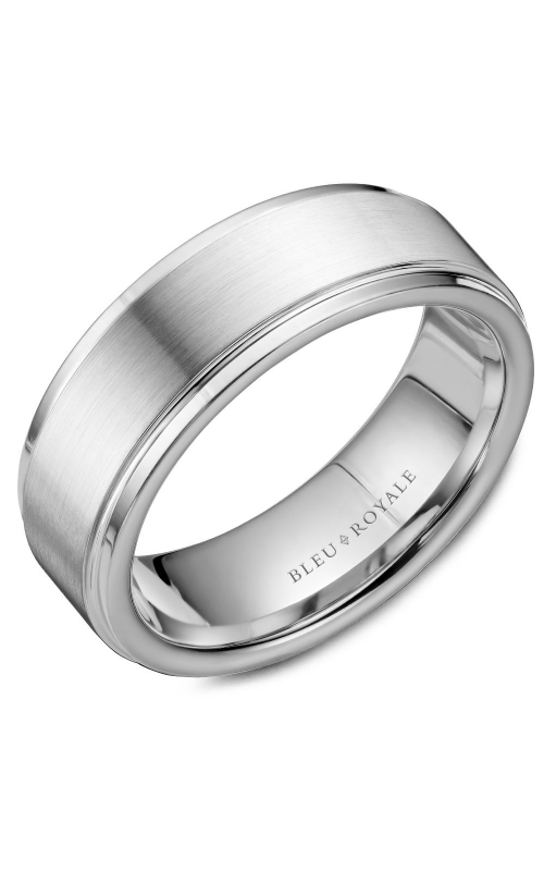 Bleu Royale Wedding band Men's Wedding Bands RYL-036W75 product image