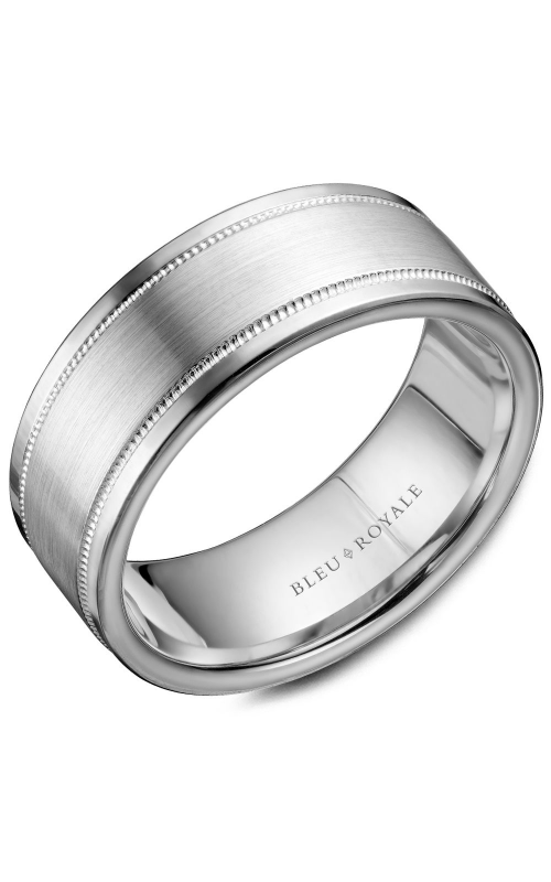 Bleu Royale Men's Wedding Bands Wedding band RYL-038W85 product image