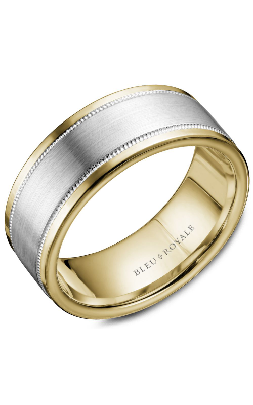 Bleu Royale Wedding band Men's Wedding Bands RYL-038WY85 product image