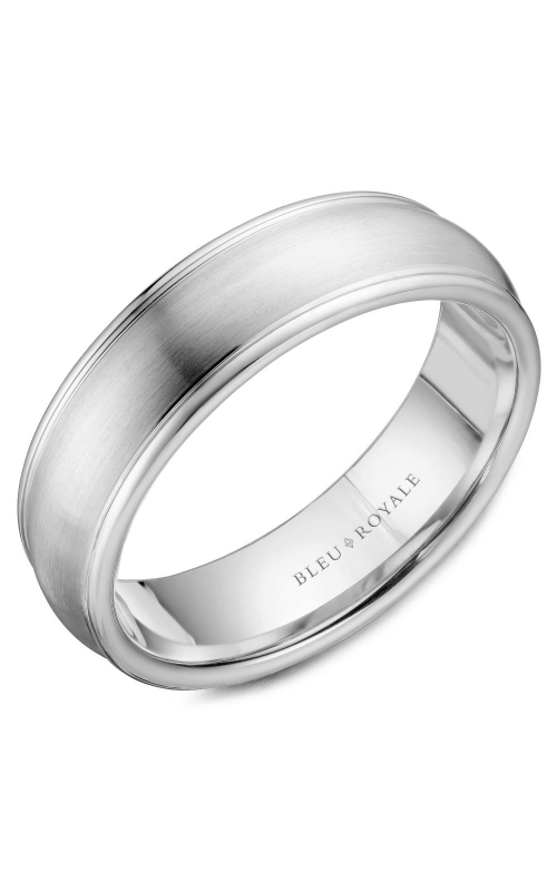 Bleu Royale Wedding band Men's Wedding Bands RYL-039W65 product image