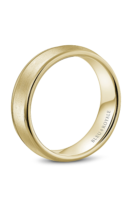 Bleu Royale Men's Wedding Bands Wedding band RYL-039Y65 product image