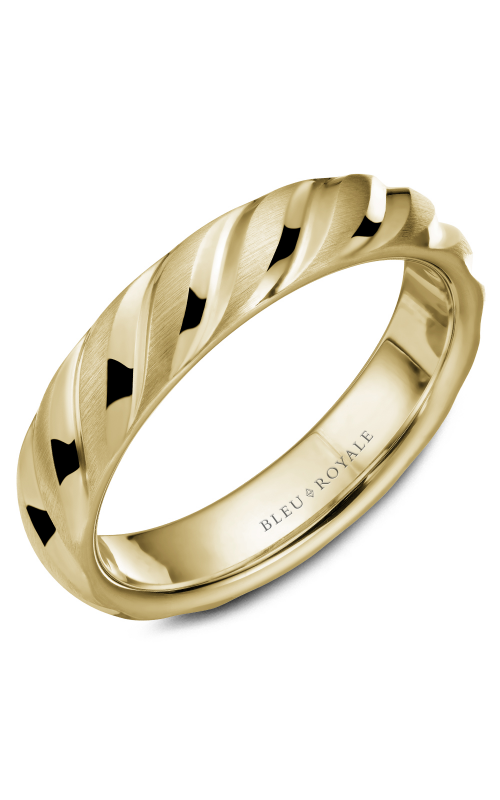 Bleu Royale Men's Wedding Bands RYL-043Y5 product image