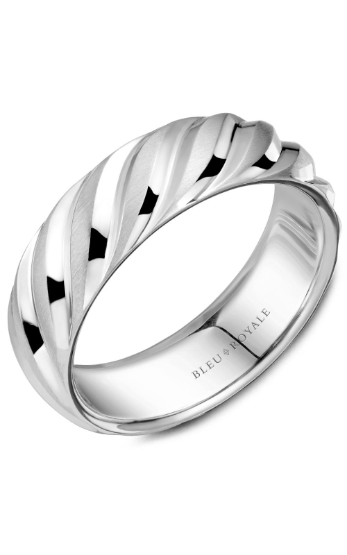 Bleu Royale Wedding band Men's Wedding Bands RYL-044W7 product image