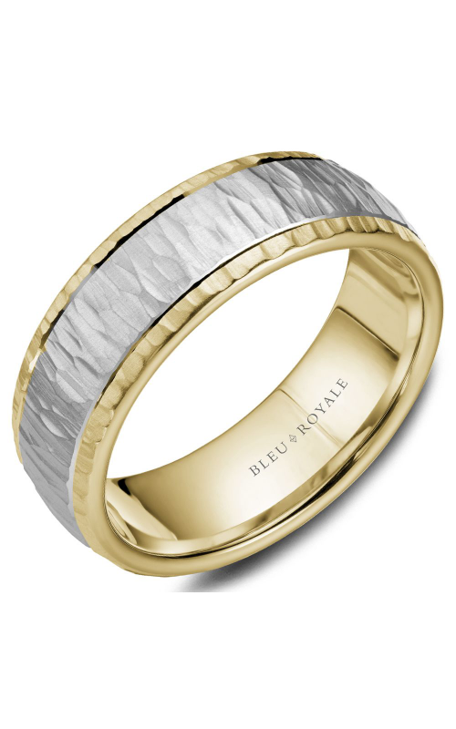 Bleu Royale Men's Wedding Bands Wedding band RYL-045WY75 product image