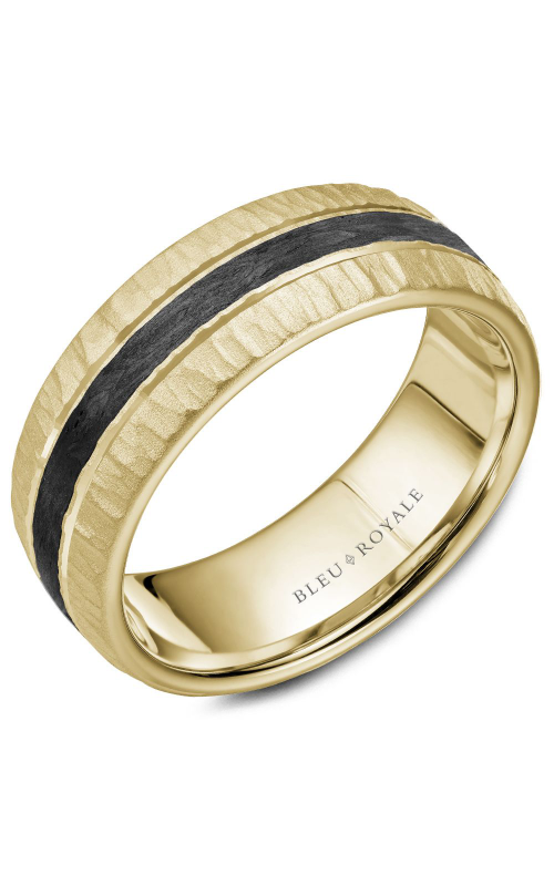 Bleu Royale Wedding band Men's Wedding Bands RYL-046Y8 product image