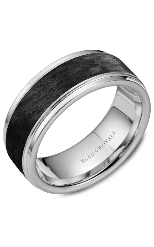Bleu Royale Men's Wedding Bands Wedding band RYL-047W85 product image