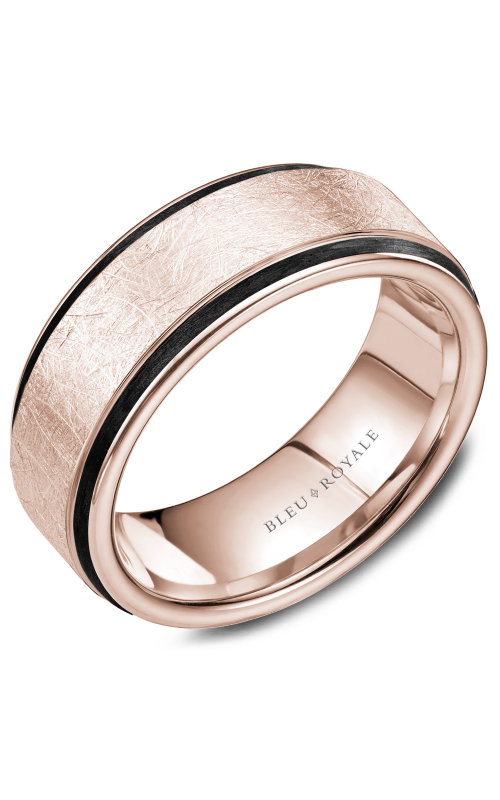 Bleu Royale Wedding band Men's Wedding Bands RYL-048R85 product image