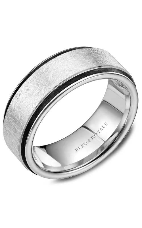 Bleu Royale Wedding band Men's Wedding Bands RYL-048W85 product image