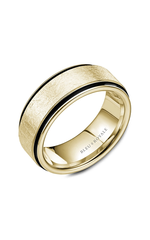 Bleu Royale Men's Wedding Bands Wedding band RYL-048Y85 product image