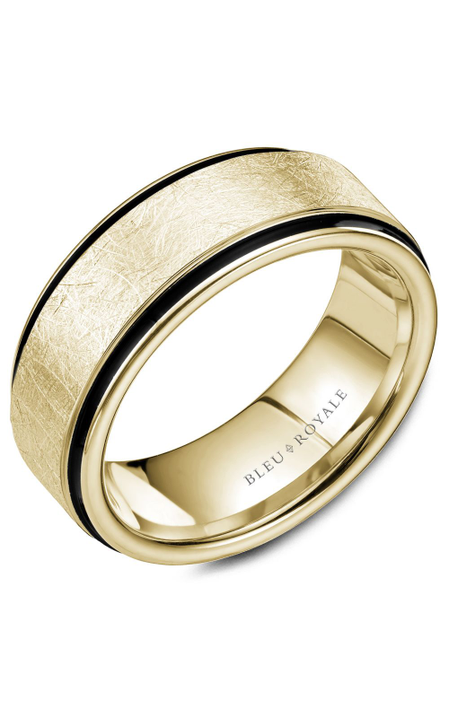 Bleu Royale Wedding band Men's Wedding Bands RYL-048Y85 product image