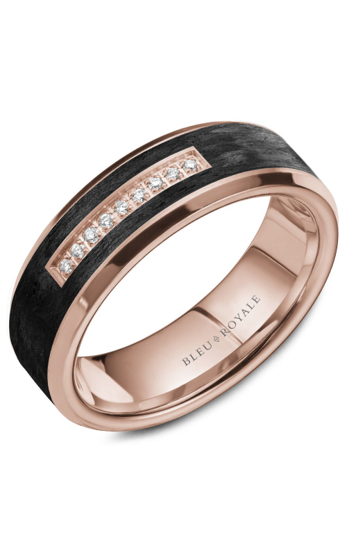Bleu Royale Wedding band Men's Wedding Bands RYL-049RD7 product image