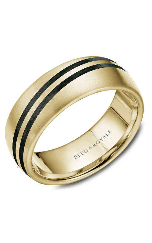 Bleu Royale Wedding band Men's Wedding Bands RYL-050Y8 product image