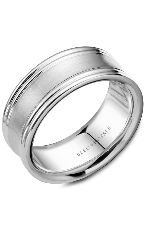 Bleu Royale Men's Wedding Bands Wedding band RYL-052W8 product image