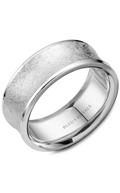 Bleu Royale Wedding band Men's Wedding Bands RYL-053W8 product image