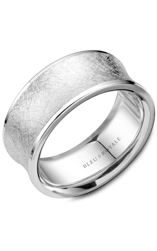 Bleu Royale Wedding band Men's Wedding Bands RYL-053W95 product image