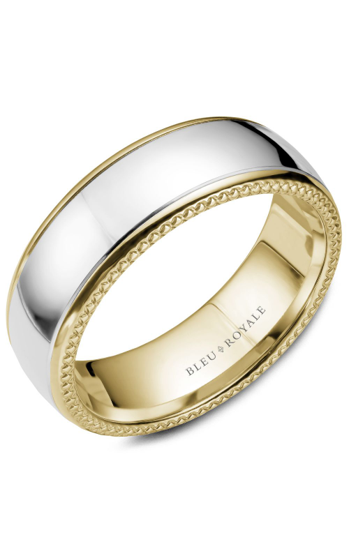 Bleu Royale Men's Wedding Bands Wedding band RYL-054WY75 product image