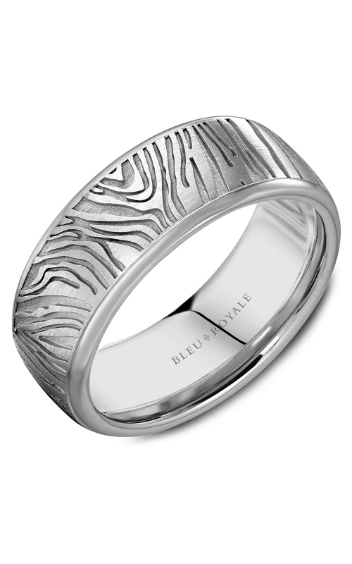 Bleu Royale Men's Wedding Bands Wedding band RYL-055W8 product image