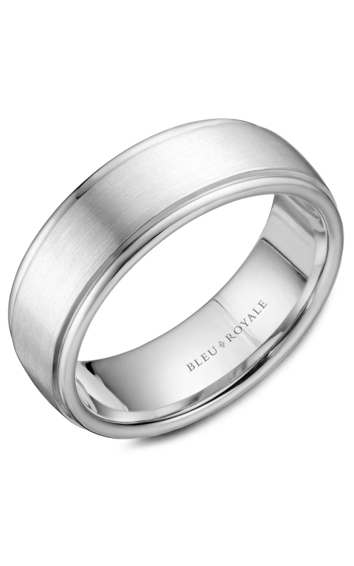 Bleu Royale Wedding band Men's Wedding Bands RYL-058W75 product image