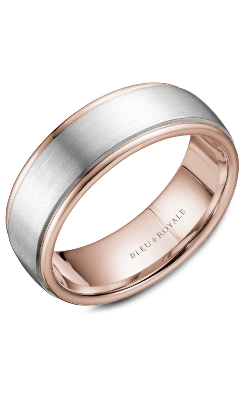 Bleu Royale Wedding band Men's Wedding Bands RYL-058WR75 product image