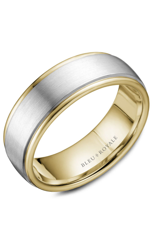 Bleu Royale Wedding band Men's Wedding Bands RYL-058WY75 product image
