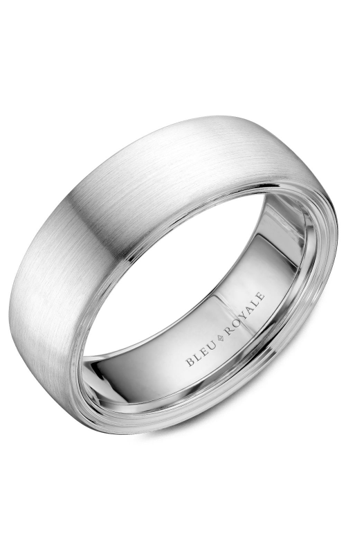 Bleu Royale Wedding band Men's Wedding Bands RYL-059W75 product image