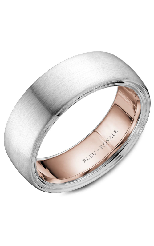 Bleu Royale Men's Wedding Bands Wedding band RYL-059WR75 product image