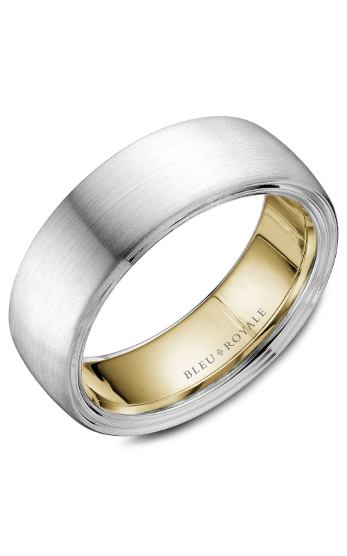 Bleu Royale Men's Wedding Bands Wedding band RYL-059WY75 product image