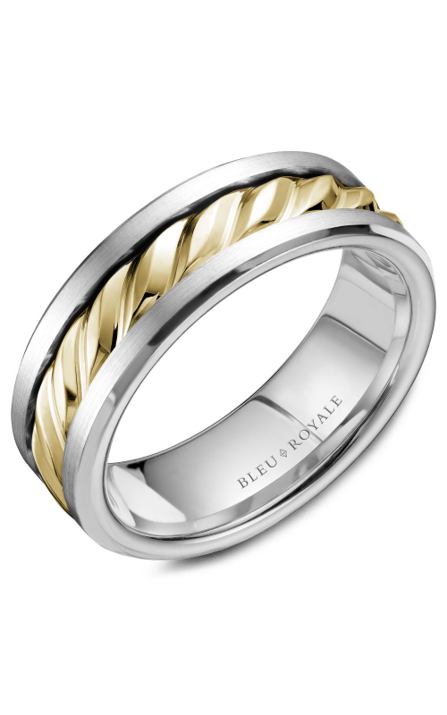 Bleu Royale Men's Wedding Bands Wedding band RYL-060YW75 product image