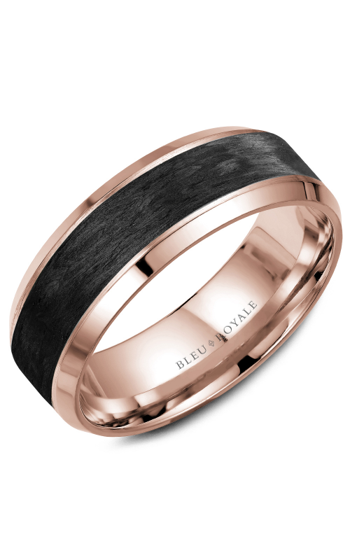 Bleu Royale Wedding band Men's Wedding Bands RYL-064R75 product image
