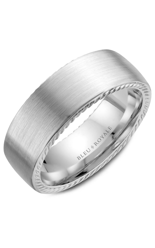 Bleu Royale Men's Wedding Bands Wedding band RYL-065W8 product image