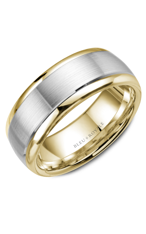 Bleu Royale Men's Wedding Bands Wedding band RYL-066WY75 product image