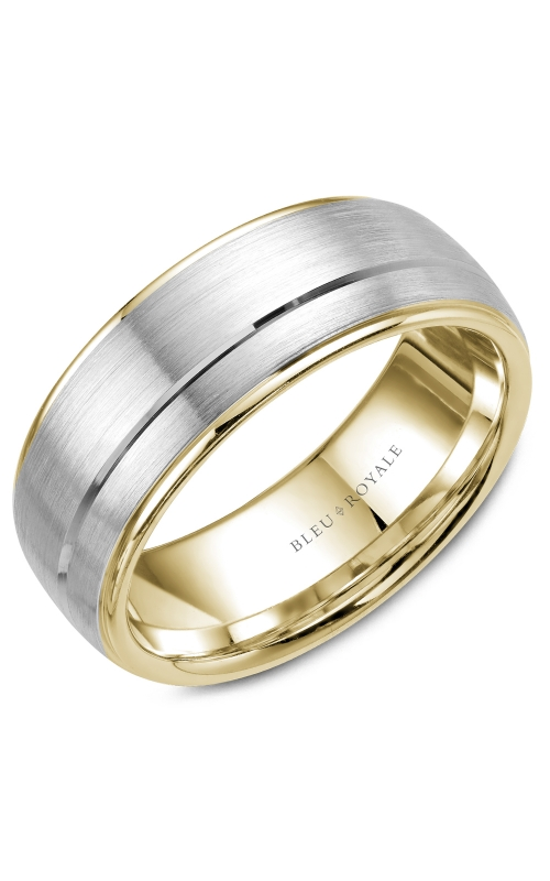 Bleu Royale Men's Wedding Bands Wedding band RYL-002WY85 product image